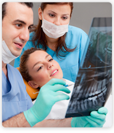 radio dentaire pour couronne et orthodontie